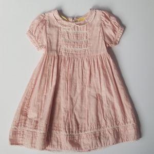 Mini Boden Pink Vintage Inspired Easter Dress